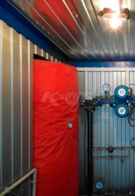 Теплоаккумулятор КЗОТ ARS 550 W эконом (с утеплением и ГВС). Фото 4