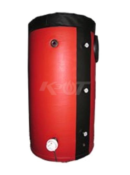 Теплоакумулятор КЗОТ ARS 550 W економ (з утепленням і змієвиком під сонячні колектори)